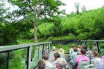Capriobus-Fahrt durchs Eschbachtal Richtung der Hofschaft Preyersmühle