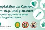 Impfaktion Karneval Bergisch Gladbach